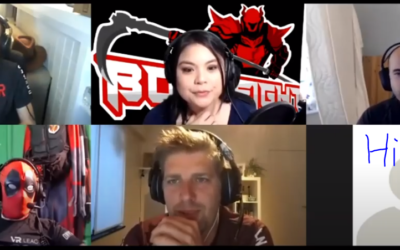 Bossfight interviewed by Viviane in The Buzz